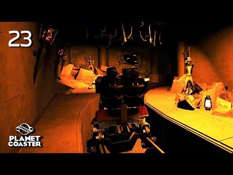 Planet Coaster | Universal Studios Hollywood🎬 | Ep.23 Revenge Of The Mummy - Dark Ride Zone | Part.1