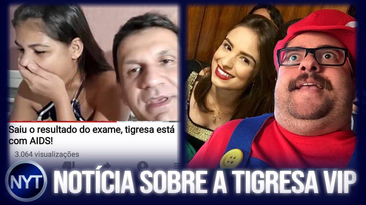 Tigresa Vip Viraliza Ap 243 S Descoberta Sobre Aids