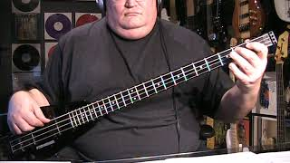 Download Lagu Electric Light Orchestra ELO Mr Blue Sky Bass Cover with Notes Tab MP3
