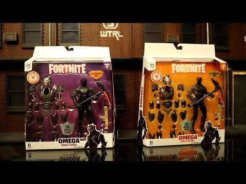 Jazwares Fortnite Omega Max Level Orange & Purple Legendary Series 6 Inch Scale Action Figure