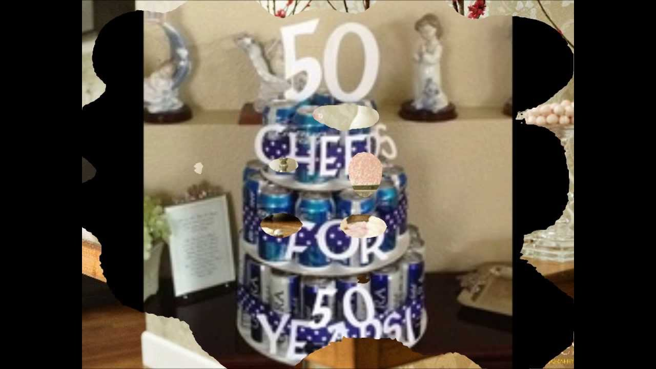 50th birthday party ideas supplies themes