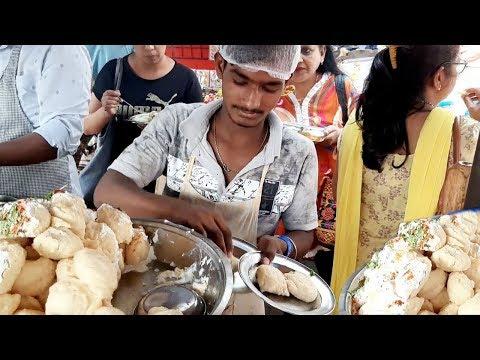 Mumbai Famous A1 Pani Puri & Chaat Corner | Chole Pattice / Dahi Vada & Bhelpuri Starts @ 30 Rs