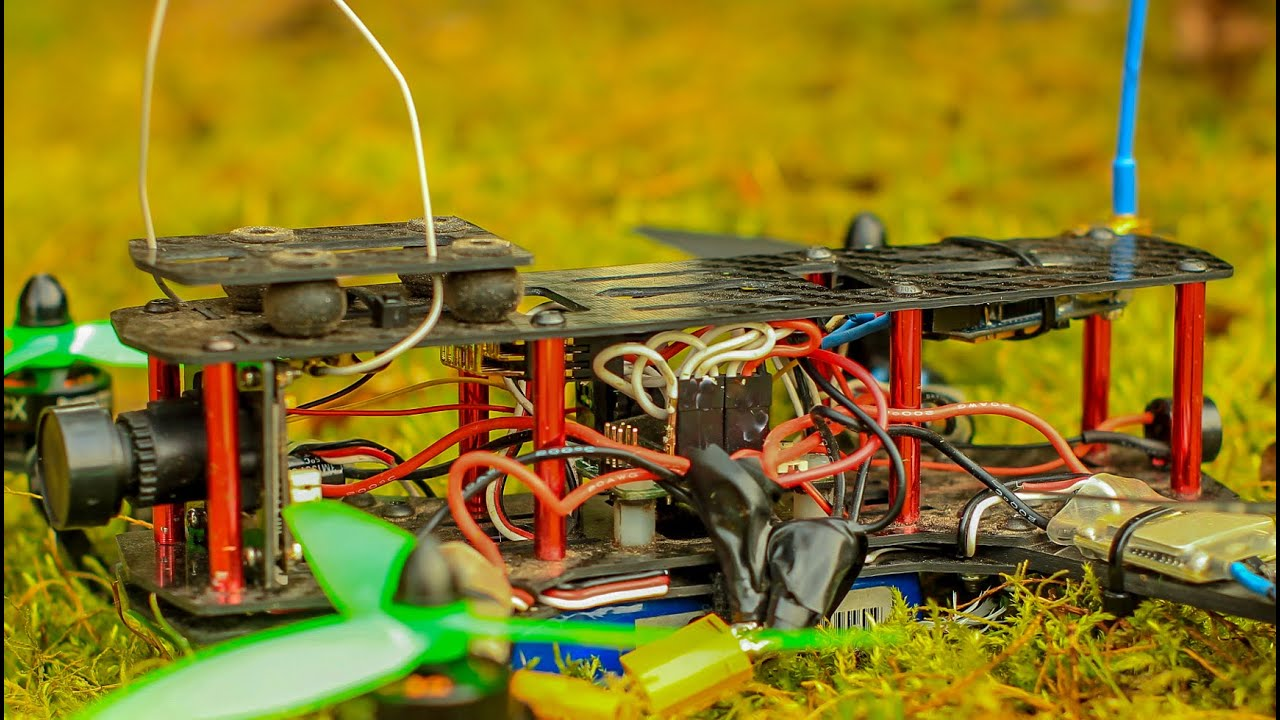 fpv zmr 250 build and backyard fun blackout qav250 youtube