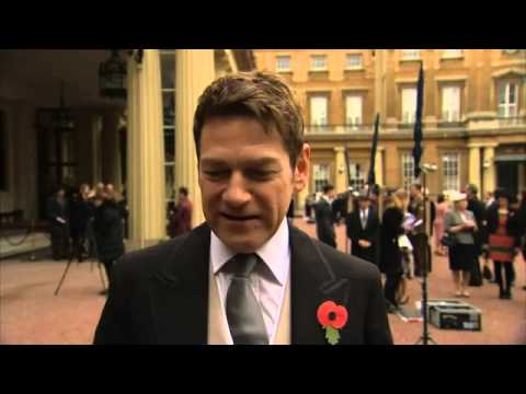 Kenneth Branagh Knighted At Buckingham Palace.
