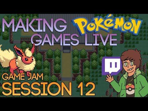 Making Pokemon Games Live (Game Jam Session 12)