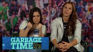 """Trash Talk"" with Alex Morgan, Sydney Leroux & Kelley O'Hara"