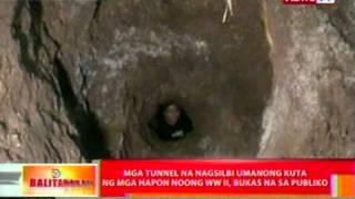 BT: Mga tunnel na nagsilbing kuta ng mga hapon noong WW II sa Albay, bukas na sa publiko