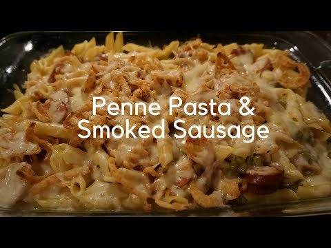 Cooking With Kissondra | Penne Pasta With Smoked Sausage