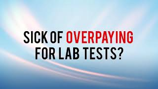 Sick of Overpaying For Lab Tests Try Walk-In Lab (Blue)