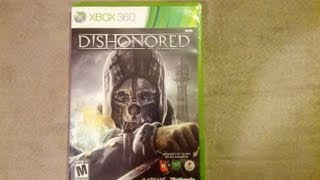 Dishonored Unboxing (Xbox 360) + Whale Oil USB Lamp! Release Day! (HD)