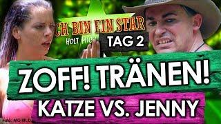 Dschungelcamp 2018 - Tag 2:  Zoff! Tatjanas TRÄNEN! Jenny VS. Daniela Katzenberger bei IBES RTL