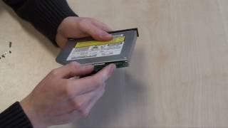 Einbaurahmen für Optisches Laufwerk / DVD-Brenner tauschen (Notebook / Laptop)