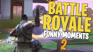 Where'd the House Go? - Fortnite Battle Royale Funny Moments #2
