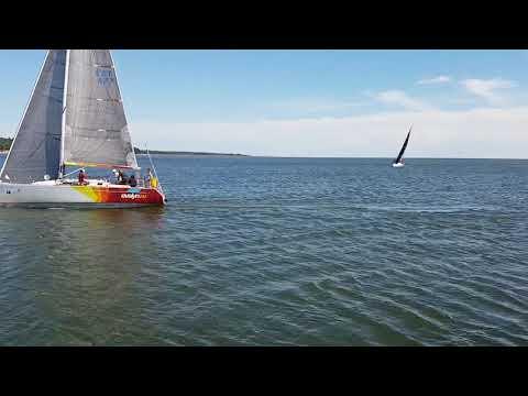 Saaremaa MV 2018 Finiš Mõntus Evelyn III ja Cassandra