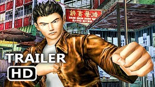 PS4 - Shenmue 1 & 2 Gameplay Trailer (Remastered, 2018)