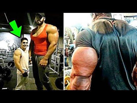 5 Uomini Giganteschi che sembrano HULK