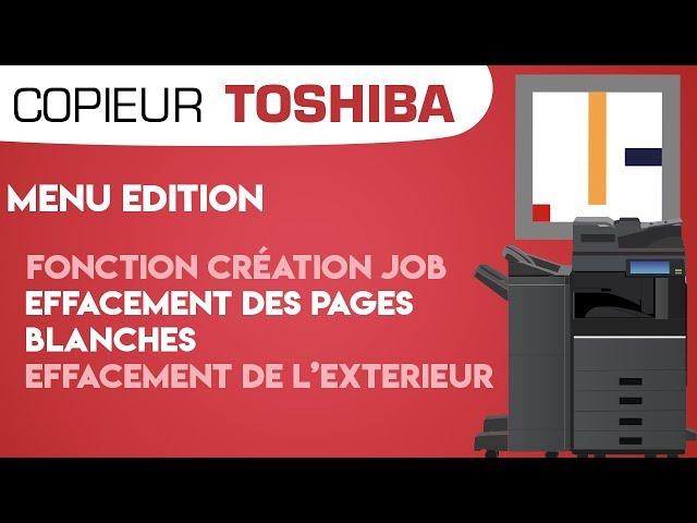 #08. Création de job, effacement des pages blanches et de l'exterieur