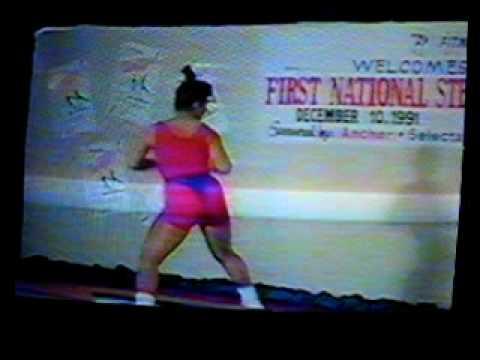 STEP AEROBICS COMPETITION DEC/ 8 /1991 MANILA POLO CLUB