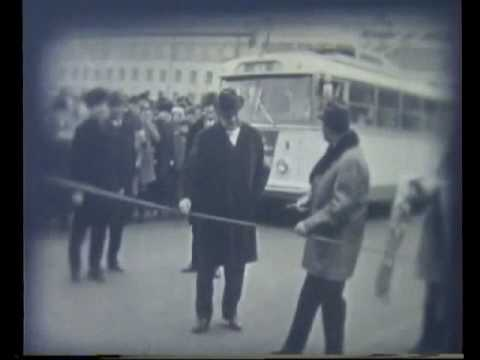 The VERY FIRST trolleybuses in Rivne - 1974