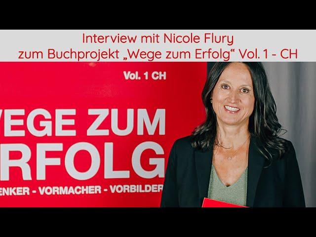 Interview mit Autorin Nicole Flury zum Buchprojekt