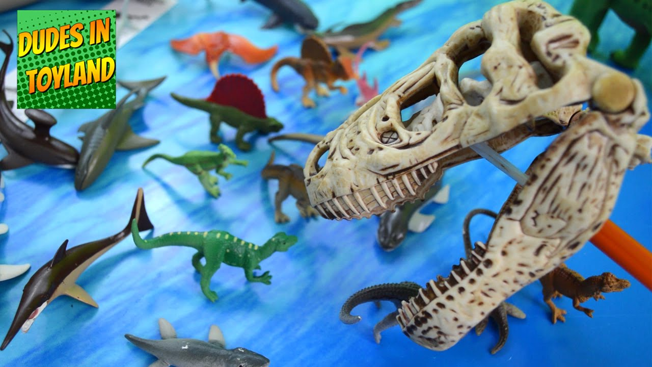 Shark Toys For Boys And Dinosaurs : Dinosaur toys by safari ltd prehistoric sharks toob