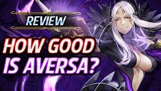 Fire Emblem Heroes Unit Review How Good Is Aversa Builds Amp Analysis