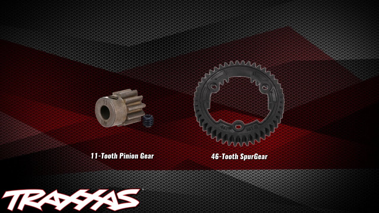 Gearing Setup Traxxas Support Youtube Chart Slash Speed