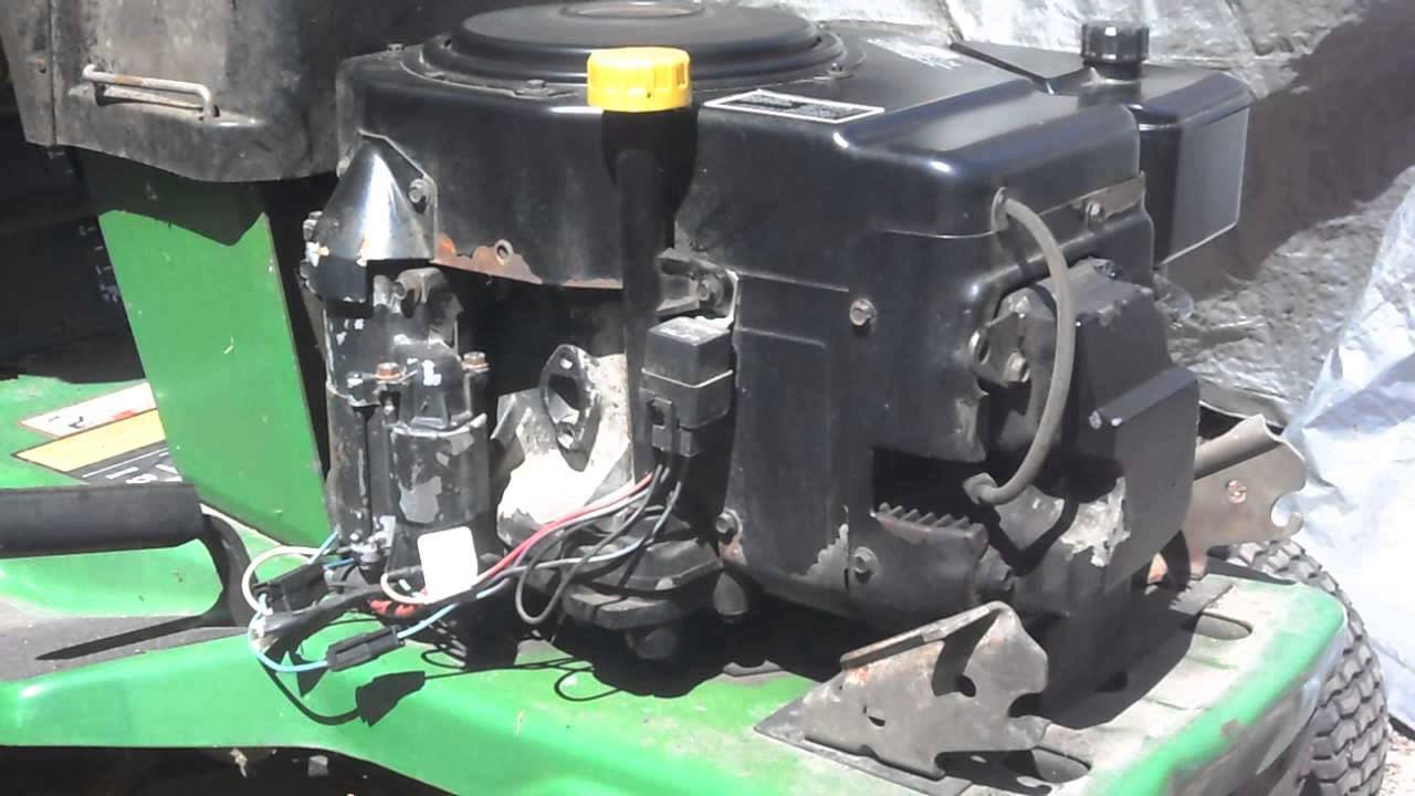 John Deere Lx188 Wiring Diagram Kohler Command 12 5hp Engine For Sale Youtube