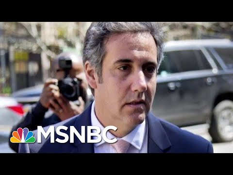 ExPresident Donald Trump Lawyer Michael Cohen Continues Meeting With Feds  The Last Word  MSNBC