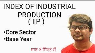Index of Industrial Production IIP