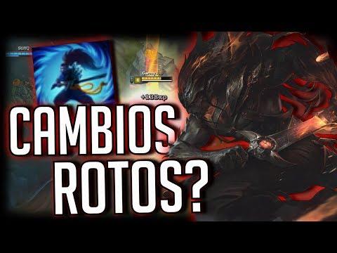 ¡¿LOS NUEVOS CAMBIOS A YASUO LO DEJAN ROTO?! | VUELVE EL BAN 100% EN BRONCE | Garmy