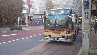 神奈川中央交通東 大和営業所 土曜、休日観れなくなった横浜駅西口乗り入れ 三菱ふそうエアロスター