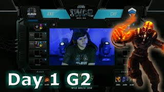 Albus NoX Luna vs Chiefs | S6 Worlds 2016 International Wildcard Qualifiers Day 1 | ANX vs CHF