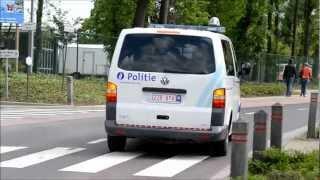 PZ Wokra met spoed - Police car responding code 3 + wig wag headlights