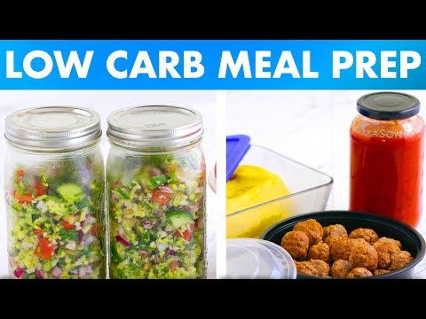 Low Carb Meal Prep Recipes for Breakfast, Lunch and Dinner! – Mind Over Munch