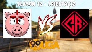 ???? TEAM SCHWEINEAIM vs. Team Cryptix Gaming ???? - 99Damage Liga Season 12