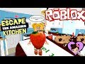 Baby Goldie Escapes The Amazing Kitchen - Funny Obby Adventure in Roblox!