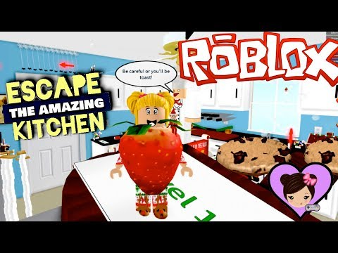 Ba Goldie Escapes The Amazing Kitchen  Funny Ob Adventure in Roblox!