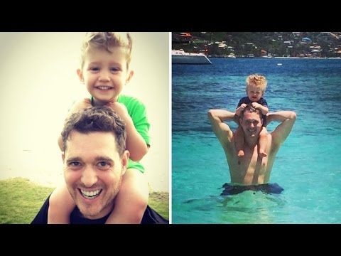 Michael Buble Puts Career On Hold To Care For 3-Year-Old Son Battling Cancer
