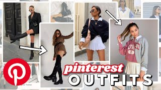 Recreating Pinterest Outfits with Basic Pieces FALL Outfit Ideas