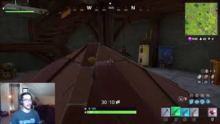 Fortnite Hiding in Pyramid Roofs - Success!