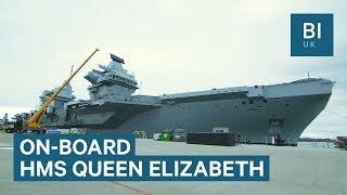 Take a look on board the Royal Navy's £3 billion warship