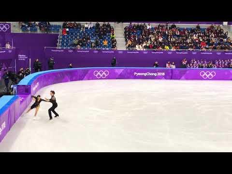 Scott Moir and Tessa Virtue 2018 PyeongChang Short Dance World Record