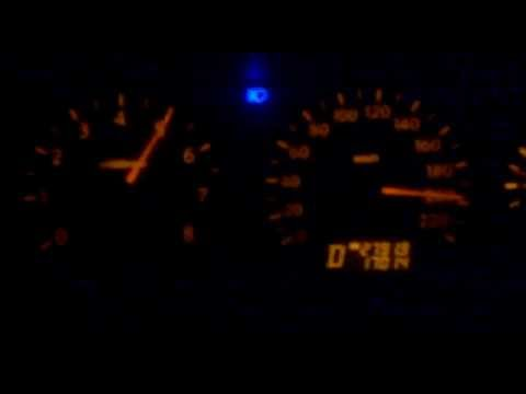 2011 Nissan Sunny (stock) acceleration 0-200km/h (0-124mph)