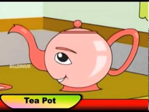 Animation Song | Tea Poat | Chinnuvinte School | Kids Informative Animations