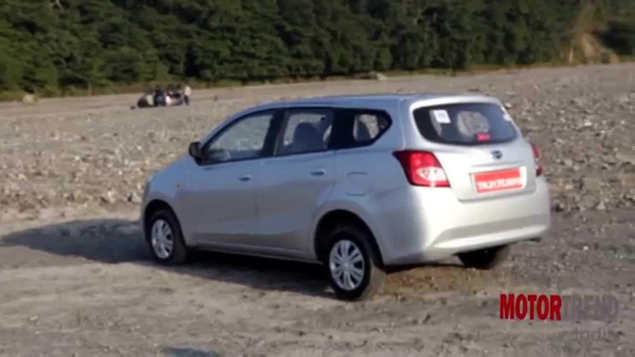 Datsun Go+ Plus Test Drive Review - Motor Trend India ...