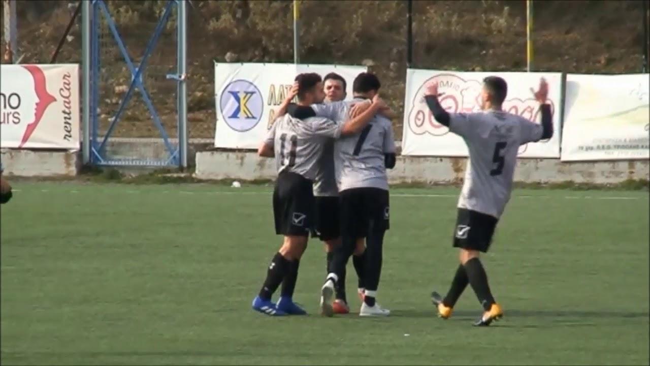 ΑΕΚ Τρίπολης-Ολυμπιακός Λ 3-2