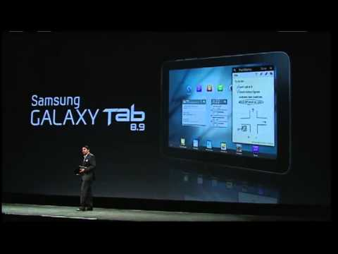 Samsung Galaxy Tab 8.9 Features and Specifications
