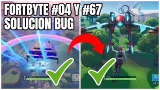 FORTBYTE #04 and #67 (SOLUTION) DO NOT APPEAR THE RINGS! (How to Remove BUG) FORTNITE Battle Royale