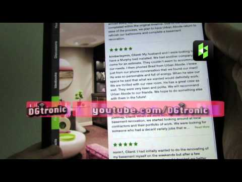 iPad app review - Houzz